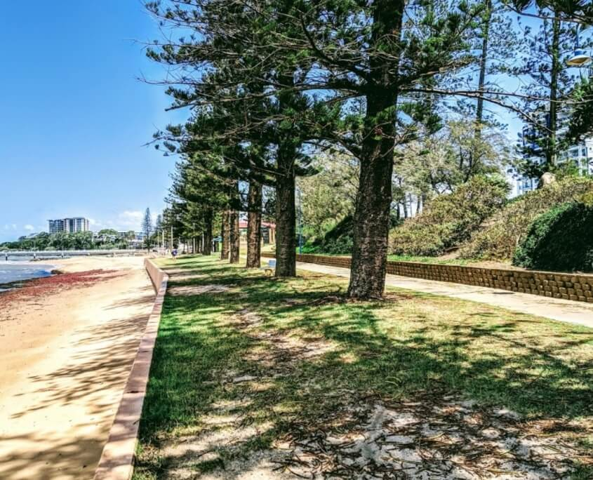 Prestige properties redcliffe Queens-Beach-Park